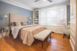 Soothing Blue Master Bedroom