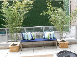 Staged Outdoor Space